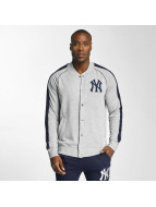Majestic Athletic College Jacke NY Yankees grau