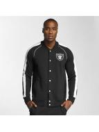 Majestic Athletic Giacca College Oakland Raiders nero
