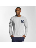 Majestic Athletic Pullover NY Yankees grau