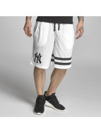 Majestic Athletic Shorts Poly Band grau