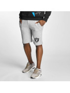 Majestic Athletic Shorts Oakland Raiders gris