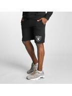Majestic Athletic Shorts Oakland Raiders schwarz
