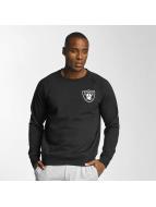 Majestic Athletic Sweat à capuche Oakland Raiders noir