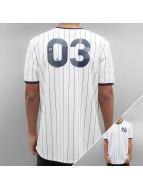 Majestic Athletic T-Shirt Longline blanc