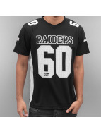 Majestic Athletic T-Shirt Oakland Raiders Players Poly noir