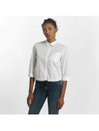 Mavi Jeans Bluse Drawstring weiß