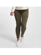 Mavi Jeans Pantalone Cargo Adriana Ankle oliva