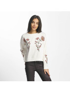 Mavi Jeans Embroidered Sweatshirt Antique White