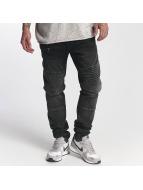 Mavi Jeans Straight Fit Jeans Jim schwarz