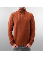 MCL Пуловер Button бежевый