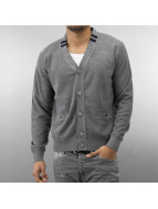MCL Cardigan Double Pocket Knit gray