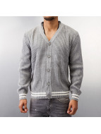 MCL Cardigan Basic Small Buttons gris