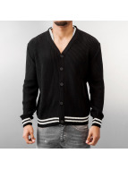 MCL Cardigan Basic Small Buttons noir