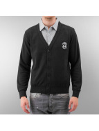 MCL Cardigan Two Horses noir