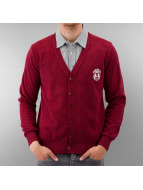 MCL Cardigan Two Horses rouge