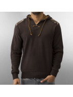 MCL Hoody Patches bruin