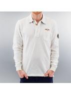 MCL Poloshirt Denim Exalted weiß
