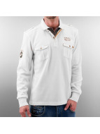 MCL Pullover Double Pocket blanc