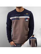 MCL Pullover Aircraft Academy blau
