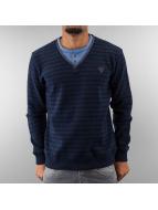 MCL Pullover Stripe Legacy blau