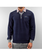MCL Pullover 2 In 1 Look blau