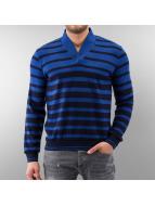 MCL Pullover Stripe blau