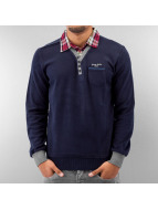 MCL Pullover 2 In 1 Look bleu