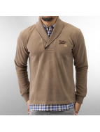 MCL Pullover 2 In 1 Look braun