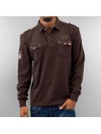 MCL Pullover Double Pocket brun