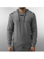MCL Pullover Patches grau