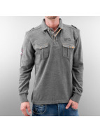MCL Pullover Double Pocket grau