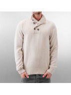 MCL Pullover Button Stone gris