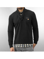 MCL Pullover 2 In 1 Look schwarz
