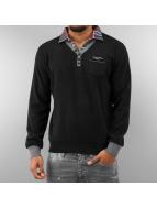 MCL Pullover 2 In 1 Look schwarz