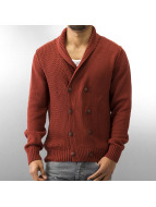 MCL Strickjacke Double Way rot