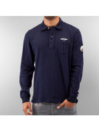 MCL T-Shirt manches longues Denim Exalted bleu