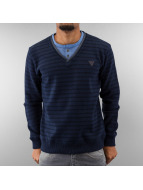 MCL trui Stripe Legacy blauw