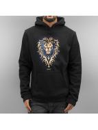 Merchcode Bluzy z kapturem Warcraft Alliance czarny