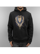 Merchcode Hoodie Warcraft Alliance black