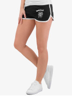 Merchcode Shorts Ladies Motörhead Logo French Terry schwarz