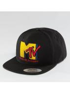 Merchcode Snapback Cap MTV Quilt schwarz