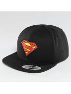 Merchcode Snapback Cap Superman schwarz
