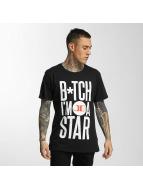 Merchcode T-Shirt Jason Derulo B*tch I'm A Star black