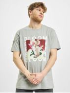 Merchcode T-Shirt MGK Bloom grau
