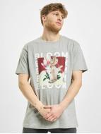 Merchcode T-Shirt MGK Bloom gris