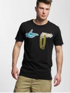 Merchcode t-shirt Run The Jewels Goldchain zwart