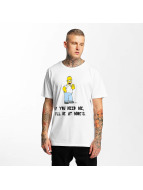 Merchcode T-shirts Simpsons Moes hvid