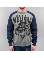 Metal Mulisha Pullover Mist blau