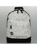 Mi-Pac Plecaki Cracked bialy
