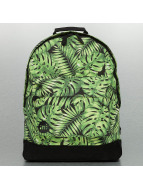 Mi-Pac Rucksack Tropical Leaf schwarz